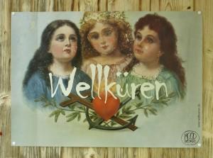"""Plakat """"Jessas 15 Jahre Wellküren"""""""