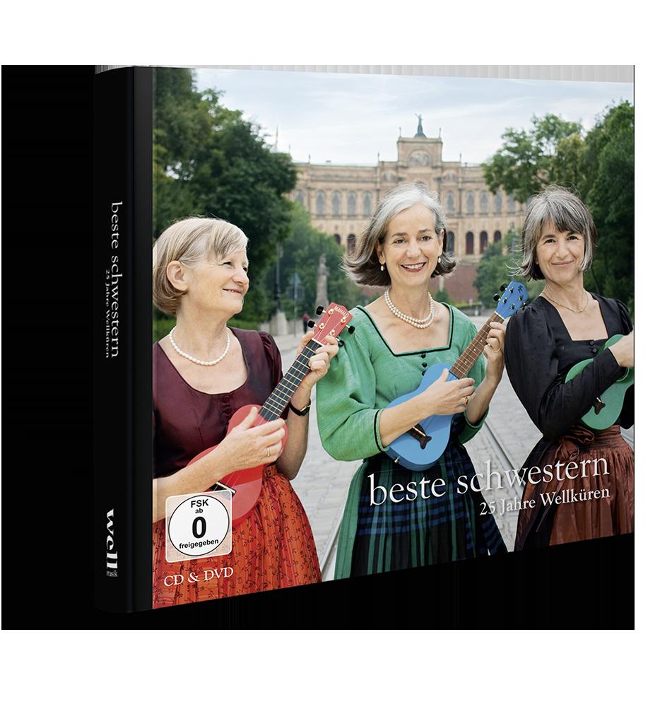 Wellküren - Beste Schwestern - DVD & CD