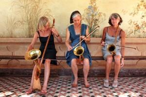Freche Nonnen Spielen Auf Bühne